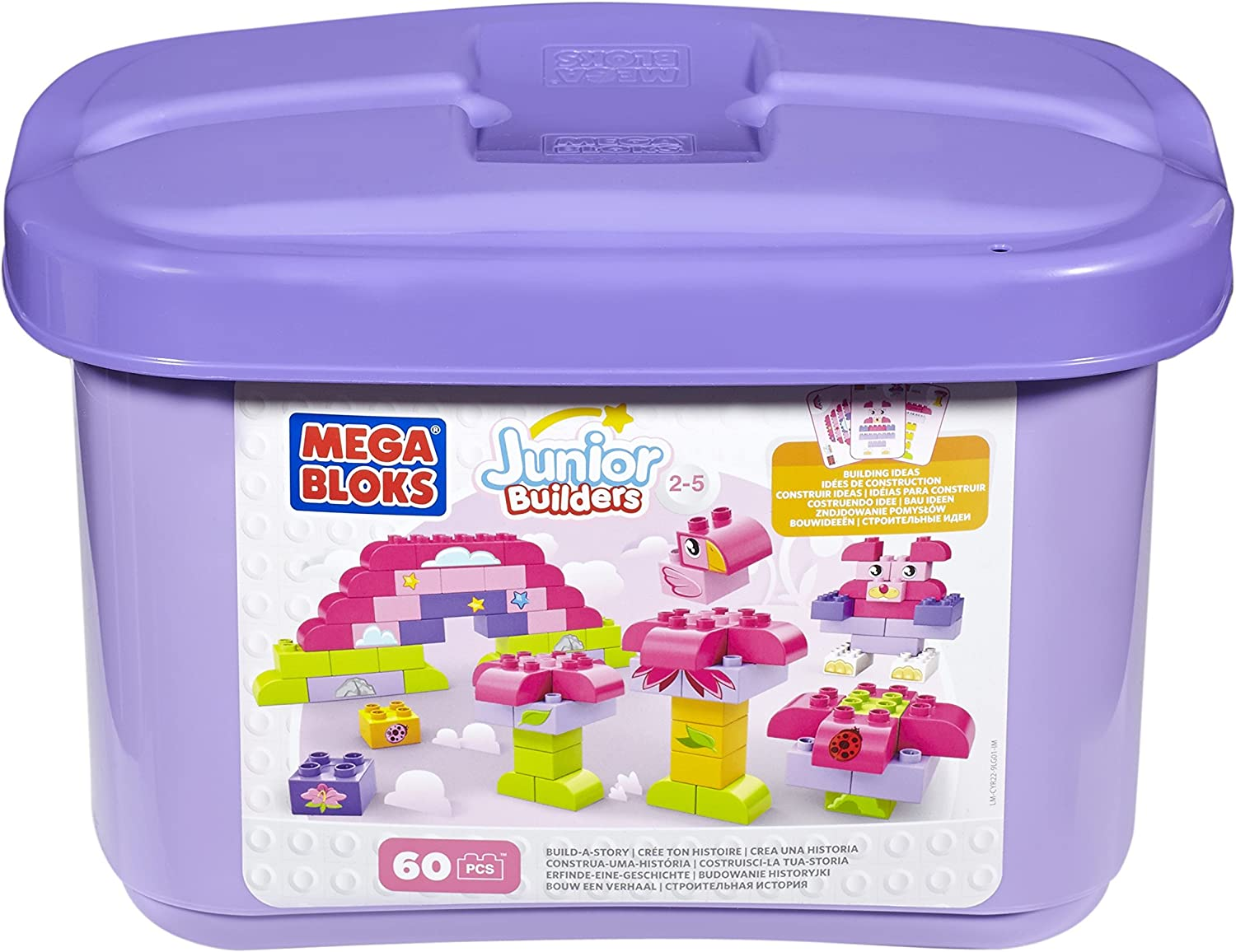 Mega Bloks Junior Builders Building Imagination (Pink)
