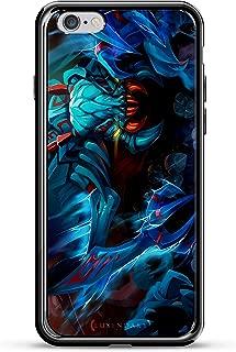 Luxendary Futuristic Alien Creature Design Chrome Series Case for iPhone 6/6S Plus - Titanium Black
