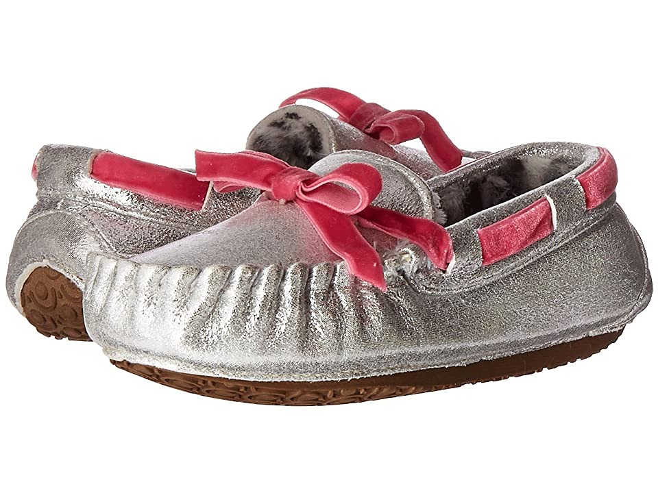 Stride Rite Gaby Moccasin (Toddler/Little Kid) (Silver) Girl