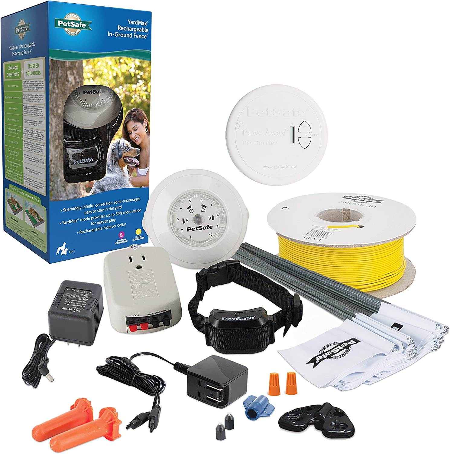 PetSafe YardMax Rechargeable In-Ground Fence – and Gorgeous Cats for Save money Dogs
