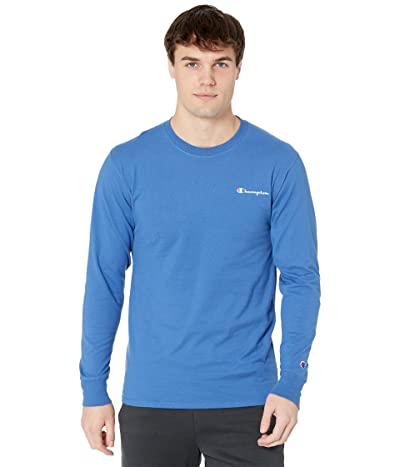 Champion Classic Graphic Long Sleeve T-Shirt (Shield Blue) Men