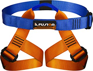 Fusion Kids Centaur Harness, Orange, Youth Universal (12 and Under)