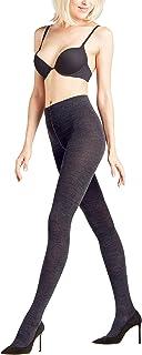 FALKE Strumpfhose Softmerino Schurwolle Baumwolle Damen schwarz blau viele weitere Farben verstärkte Damenstrumpfhose ohne Muster blickdicht Wollstrumpfhose einfarbig 1 Stück