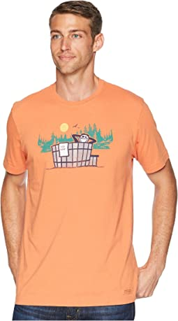 Outdoor Hottub Crusher Tee