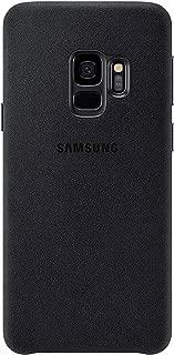 Official OEM Samsung Galaxy S9 Alcantara Cover (Black) (Renewed)