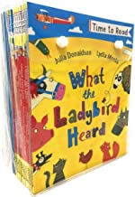 Time To Read Collection 20 Books Set (What the Ladybird Heard, Winston was Worried, Wendels Workshop, Tyrannosaurus Drop, The Gruffalos Child, The Gruffalo, A Squash and a Squeeze, Room on the Broom,