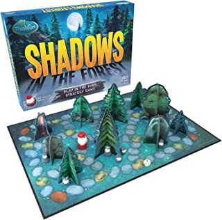 ThinkFun Shadows in the Forest Play in the Dark Board Game for Kids and Families Age 8 and Up - Fun and Easy to Learn with...