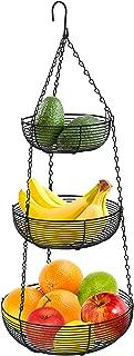 Best 2 tier hanging wire fruit basket Reviews