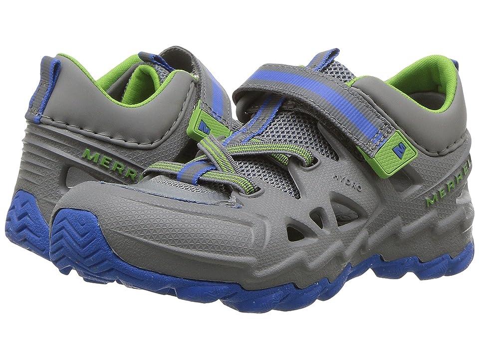 Merrell Kids Hydro Junior 2.0 (Toddler) (Grey/Blue) Boys Shoes