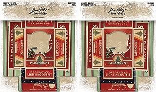 Tim Holtz Idea-Ology 2018 Christmas Vignette Box Tops - Two Packs - 10 Tops Bundle