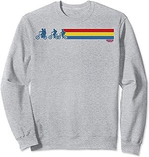 Netflix Stranger Things Retro Stripe Silhouettes Sweatshirt