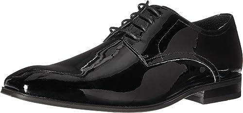 Florsheim Hommes's Tux Plain Toe Tuxedo Formal Oxford, noir Patent, Patent, 13 D US  excellent prix