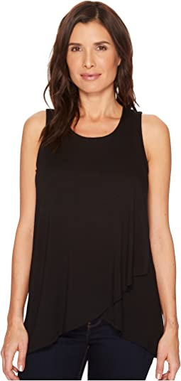 Karen Kane Asymmetric Side-Drape Top