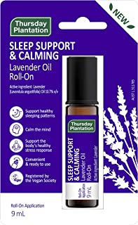 Thursday Plantation Lavender Sleep Support and Calming Oil Roll-On, 9 milliliters