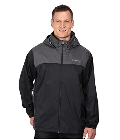 Columbia Big Tall Glennaker Laketm Jacket (Black/Grill) Men