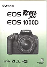 Canon EOS Rebel XS/EOS 1000D Original Instruction Manual