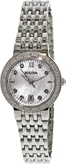 Bulova Women's 96W203 Silver Stainless-Steel Japanese Quartz Fashion Watch