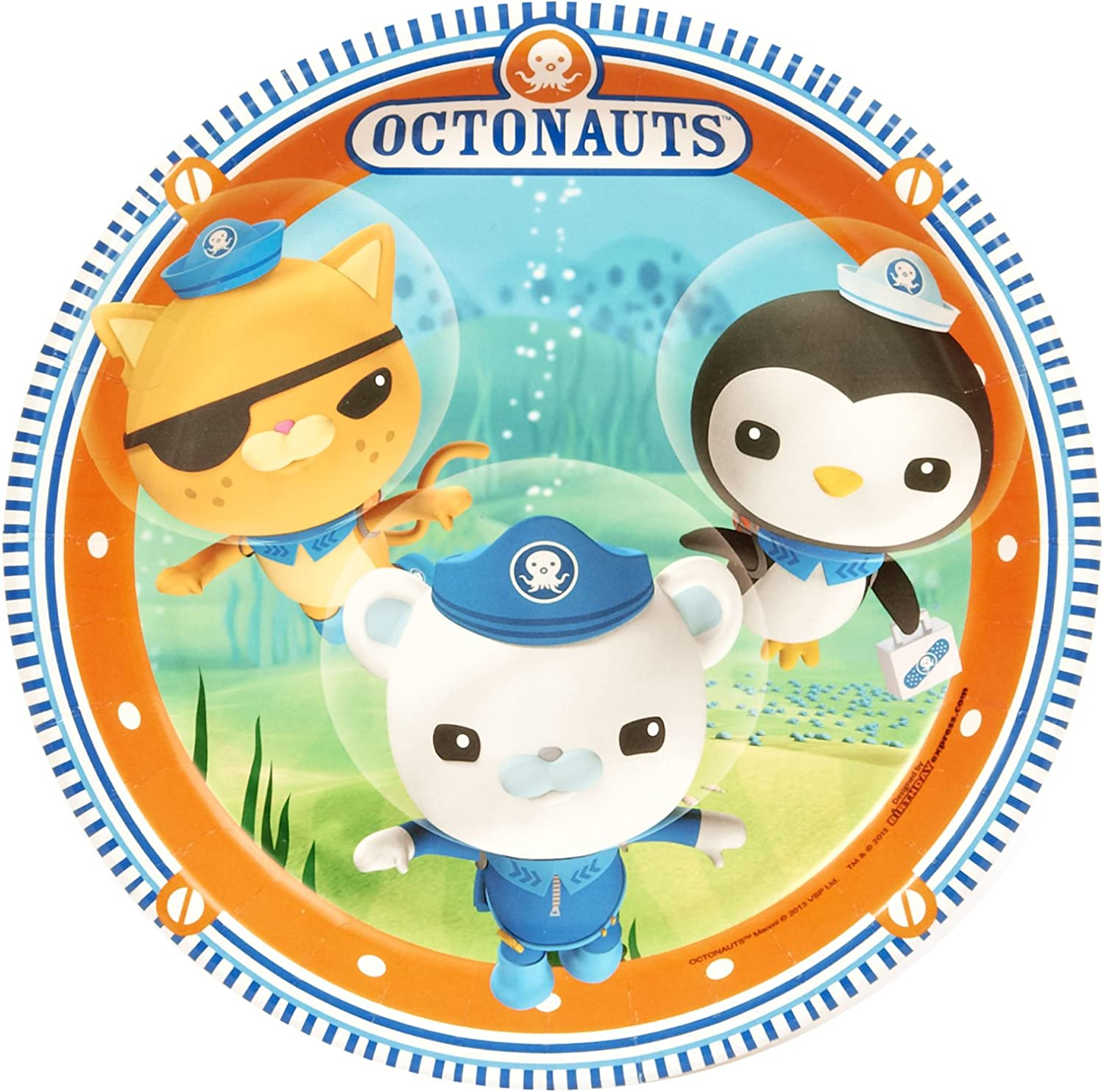 Octonauts Birthday Party Supplies 48 Pack Lunch Plates
