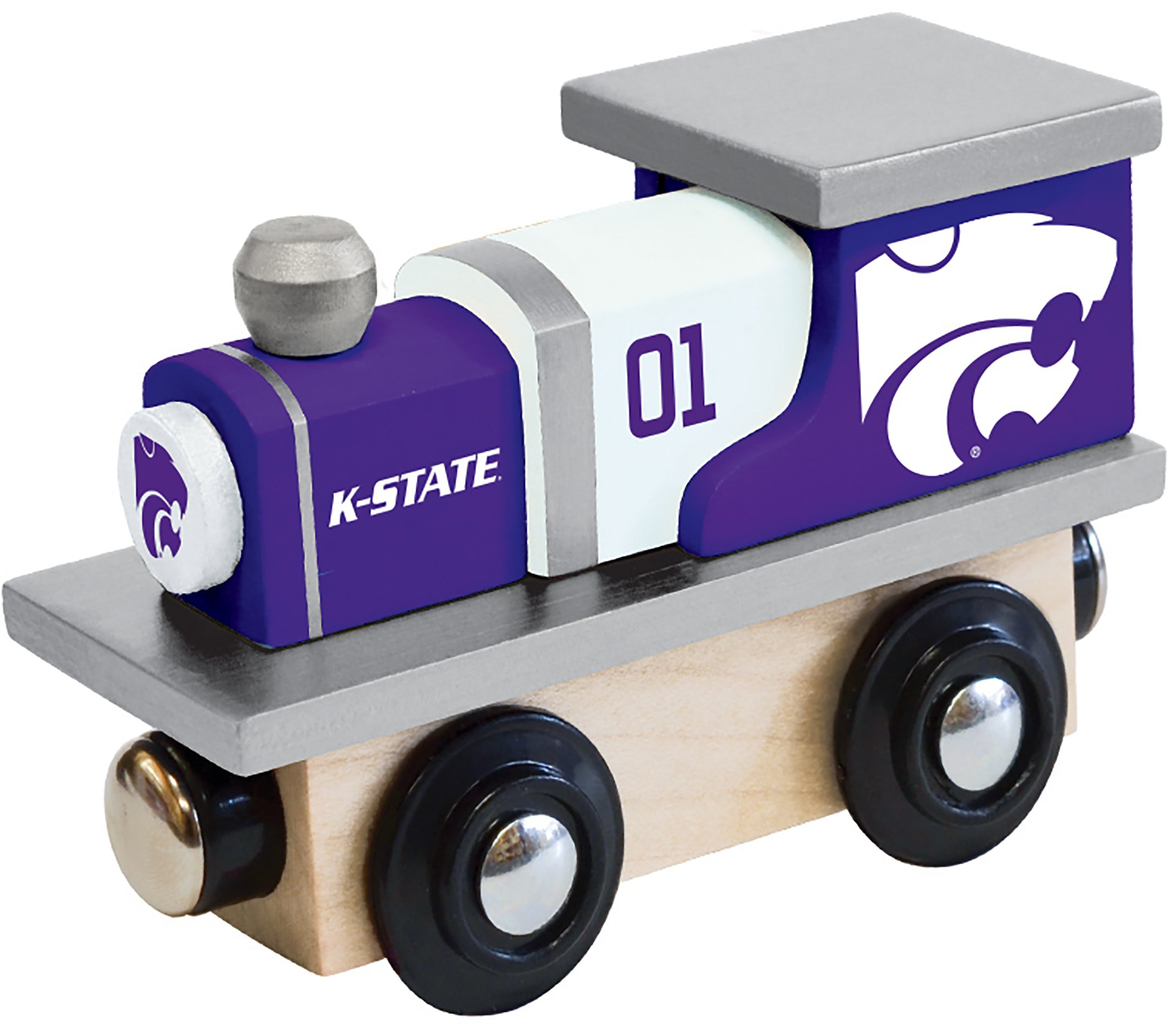 Black Tailgate Lid Topperz Fanpans MasterPieces NCAA Kansas State Wildcats