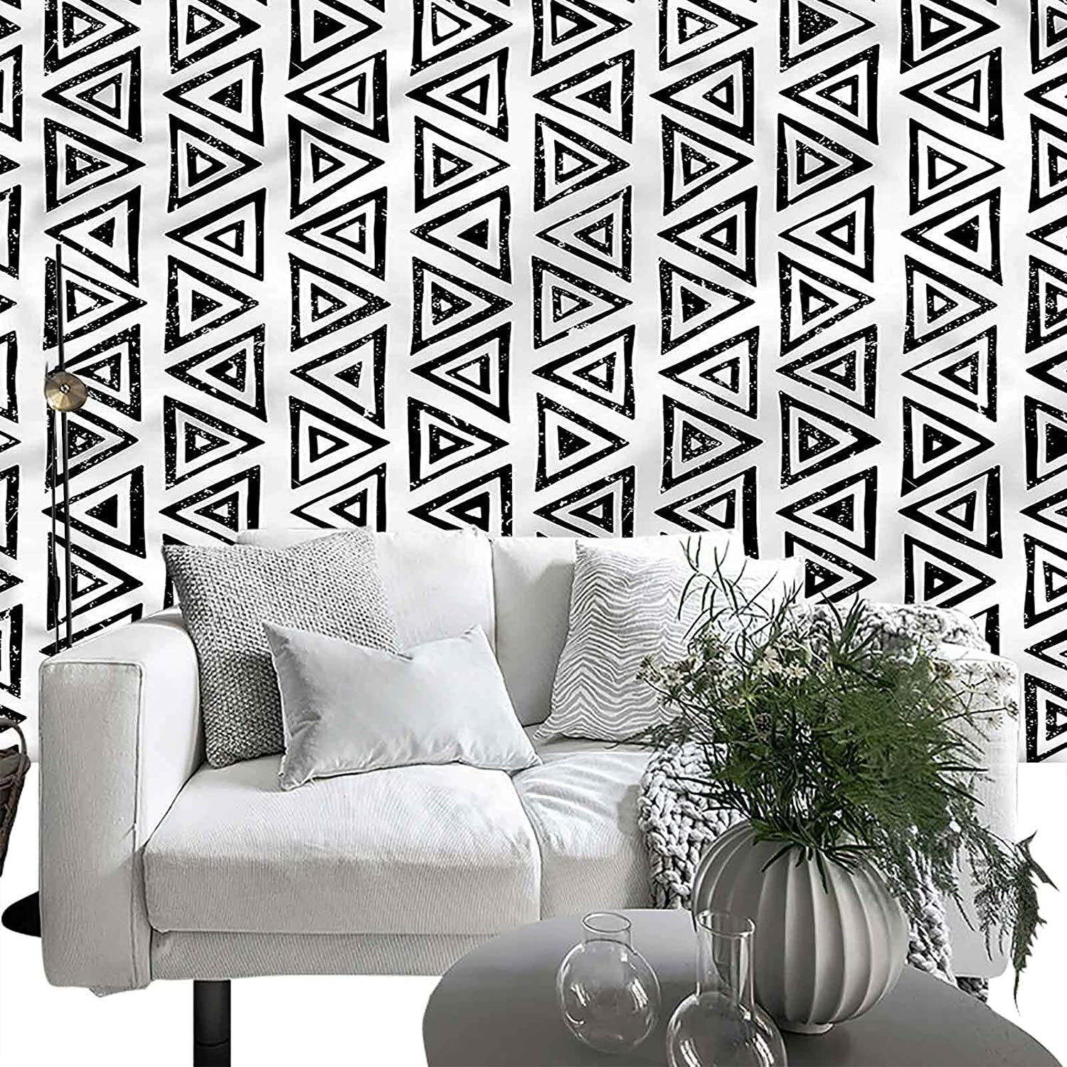 Raleigh Mall Wall Reservation Decor Print Picture Abstract Aztec Geometric Culture 66x96