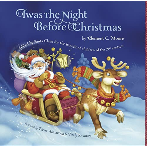 picture relating to Twas the Night Before Christmas Printable Book identify : Twas The Night time Prior to Xmas: Edited By way of Santa