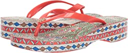 Cut Out Wedge Flip-Flop