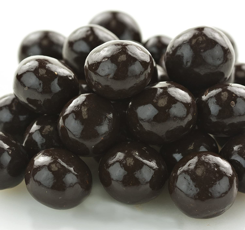 Bulk Max Ranking TOP12 50% OFF Dark Chocolate-Covered Malt Balls 1.5 2 Bag of Lb. Pack