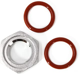 CONCORD 304 Stainless Steel Grooved Hex Lock Nut Pipe Fitting Set. Great for Home Brewing