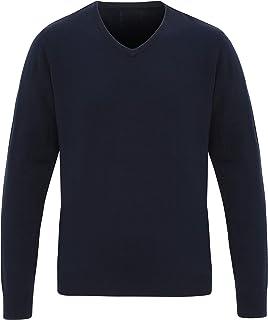 PREMIER PR400 Men's 'Essential' Acrylic V-Neck Sweater