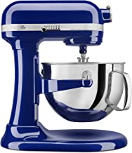 KitchenAid KP26M1XBU 6 Qt. Professional 600 Series Bowl-Lift Stand Mixer - Cobalt Blue