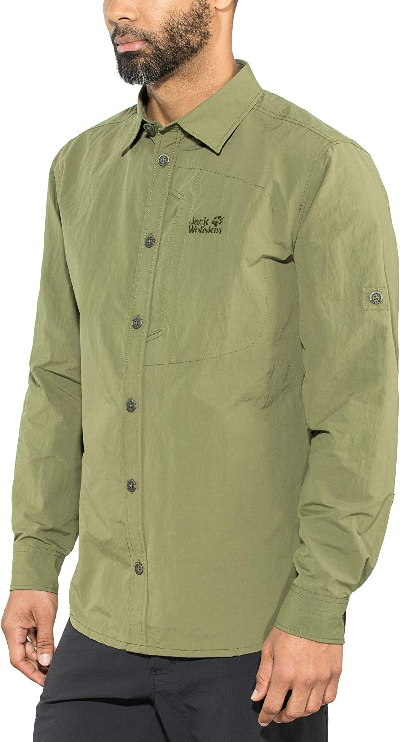 Jack Wolfskin Herren Lakeside Roll-up Shirt Hemd