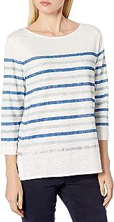 Majestic Filatures Women's T-Shirt, 889. Summer Blue/Portofino Blue