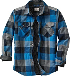 Mens Woodsman Heavyweight Quilted Shirt Jacket