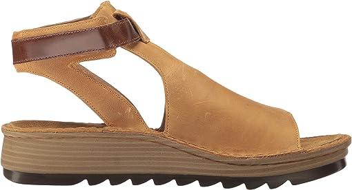 Oily Dune Nubuck/Maple Brown Leather