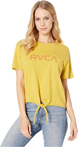Big RVCA Knotted T-Shirt