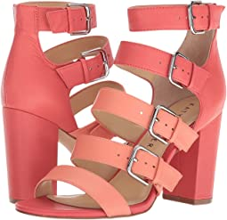 Pop Pink/Coral Soft Tumbled Leather