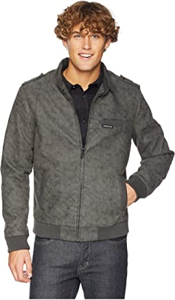 Sueded PU Iconic Jacket