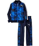 Puma Kids - Camo Printed Track Suit (Little Kids)