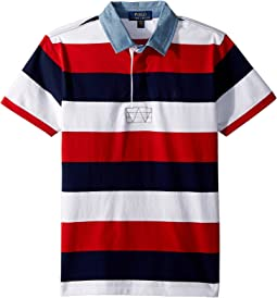 Striped Jersey Rugby Shirt (Big Kids)