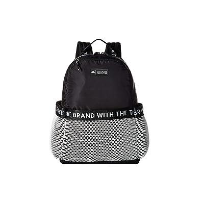 adidas VFA Premium Backpack (Black/White) Backpack Bags