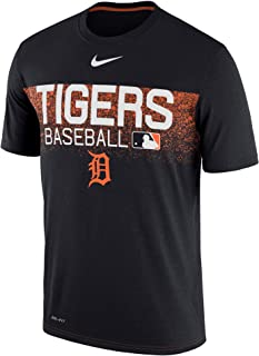 Men's Detroit Tigers Navy Authentic Collection Legend Team Issued Performance T-Shirt