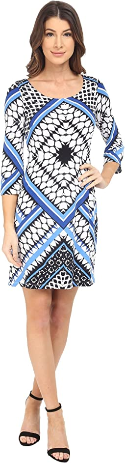 Printed Ity Shift Dress