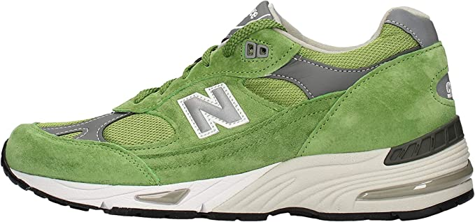 New Balance Uomo - Sneakers 991 Made in UK Verde - Numero 46.5 ...