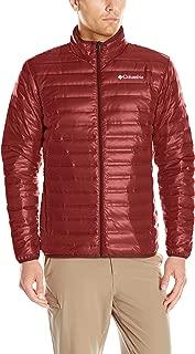 Columbia Men's Flash Forward Down Jacket, Deep Rust, Large
