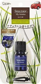 シャルダン SHALDAN My Aroma アロマ for CAR 芳香剤 クルマ用 クルマ ボタニカルレモングラス 5ml