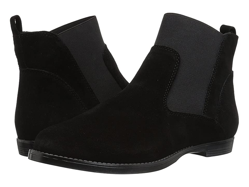 Bella-Vita Rayna (Black Suede) Women