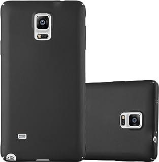 ec4152d4d50 Cadorabo Funda para Samsung Galaxy Note 4 en Metal Negro - Cubierta  Protección de Plástico Duro