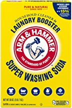 Arm & Hammer Super Washing Soda Detergent Booster & Household Cleaner, 55oz.
