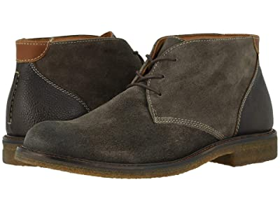 Johnston & Murphy Copeland Casual Chukka Boot (Gray Oiled Suede) Men