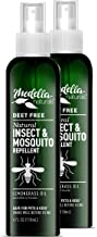 Medella Naturals Insect & Mosquito Repellent, DEET-Free All-Natural Formula, Kid and Pet Friendly, Made in the USA, 4 Ounc...